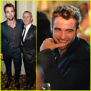 Robert Pattinson Debuts Goatee at GO GO Gala