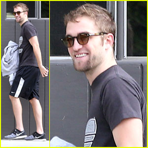 Robert Pattinson: Workout Session Before GO GO Gala