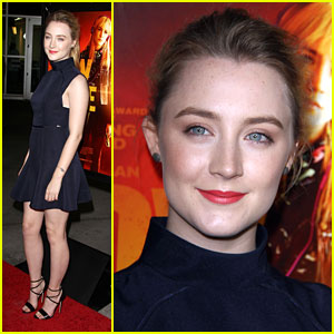 Saoirse Ronan: 'How I Live Now' Premiere Pretty
