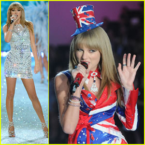 Taylor Swift: Two Outfits for Victoria's Secret Fashion Show Performance!