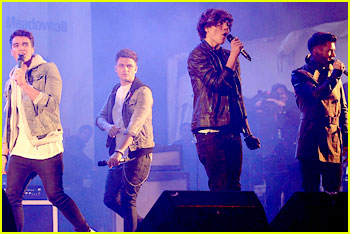 Union J Light Up Meadowhall Shopping Centre