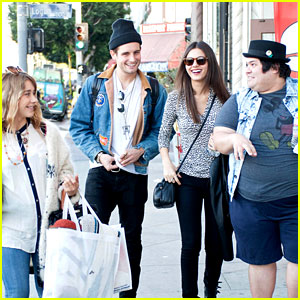 Victoria Justice: Lunch & Shopping with 'Eye Candy' Cast!