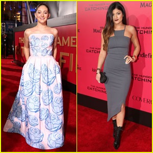 Willow Shields & Kylie Jenner: 'The Hunger Games: Catching Fire' L.A. Premiere