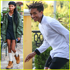 Willow & Jaden Smith: Sushi-Bound Siblings!