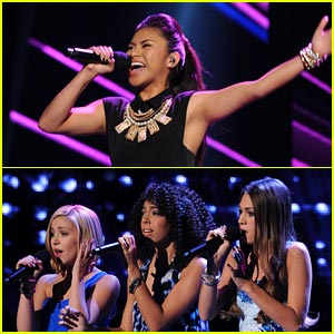 Ellona Santiago & Sweet Suspense: 'X Factor' Top 13 Performances - Watch Now!