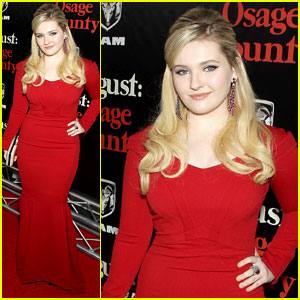 Abigail Breslin: 'August: Osage County' NYC Premiere