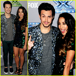 Alex & Sierra: 'The X Factor' Finale Red Carpet Pics!