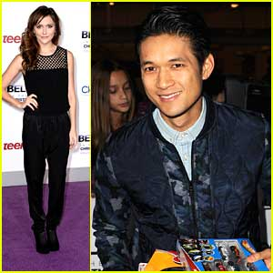 Alyson Stoner & Harry Shum, Jr.: 'Believe' Premiere