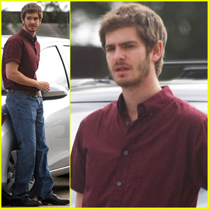 Andrew Garfield: Scruffy Face for '99 Homes'