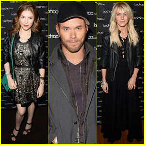 Anna Kendrick & Kellan Lutz: Beyonce Concert with Julianne Hough