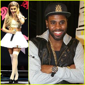 Ariana Grande & Jason Derulo: KISS FM's Jingle Ball Dallas 2013