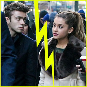 Is ariana grande dating nathan sykes from the wanted