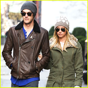 Ashley Tisdale & Christopher French: NYC After St. Jude's Visit