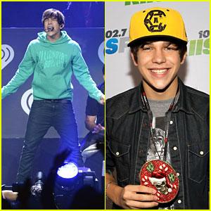 Austin Mahone: KIIS FM Jingle Ball 2013 Backstage & Performance Pics!