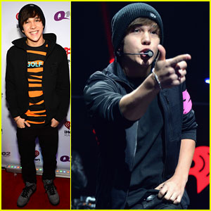 Austin Mahone: Q102's Philly Jingle Ball Performer!