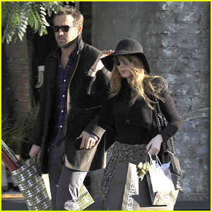 Blake Lively & Ryan Reynolds: Nespresso Shopping Stop
