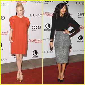 Candice Accola & Naya Rivera: THR's Women in Entertainment Breakfast
