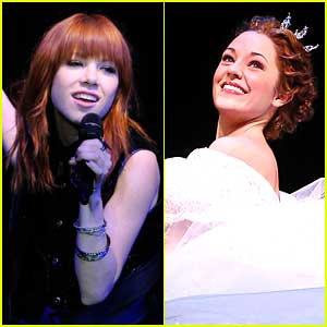 Carly Rae Jepsen Replaces Laura Osnes in Broadway's Cinderella!