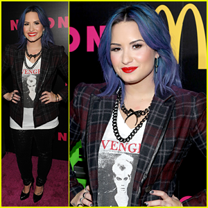 Demi Lovato: 'Nylon' December Issue Party