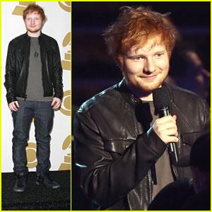 Ed Sheeran: Two Nominations at Grammy Nominations Concert!