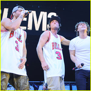 Emblem3: B96 Jingle Bash Before #JJJHolidays Takeover