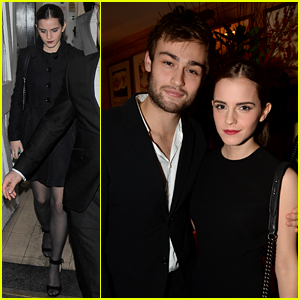 Emma Watson & Douglas Booth: Lady Gaga Private Performance