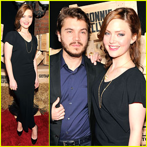 Holliday Grainger: 'Bonnie & Clyde' Premiere Party