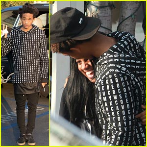 Jaden Smith Lunches with Gal Pal Before Shopping Solo