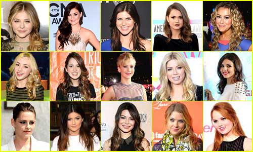 Just Jared Jr's 25 Most Popular Actresses of 2013!