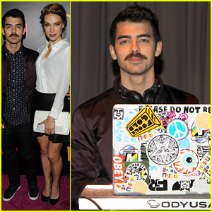 Joe Jonas & Blanda Eggenschwiler: Party Hopping Pai