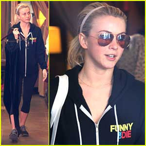 Julianne Hough: Shop Stop After Gym Time