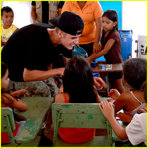 Justin Bieber: Special Show for Typhoon Haiyan!