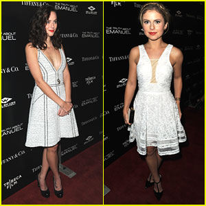 Kaya Scodelario & Rose McIver: 'The Truth About Emanuel' Premiere