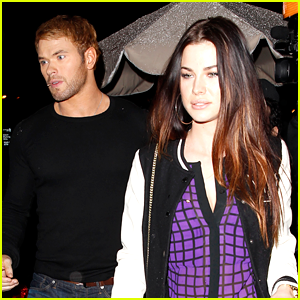 Kellan Lutz: Date Night with Mystery Brunettee, 'Expendables 3' Teaser