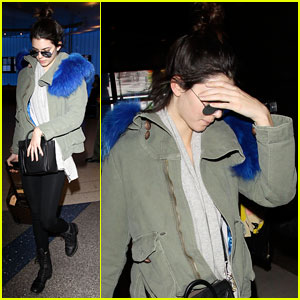 Kendall Jenner: Back in L.A. After Visiting Harry Styles in London