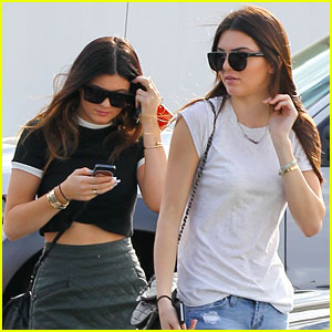 Kendall & Kylie Jenner: Fred Segal Sisters!