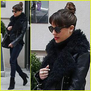 Lea Michele: NYC Album Promo!