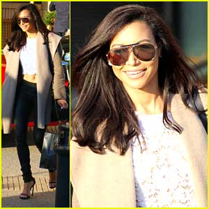 Naya Rivera Shares Winter Beauty Tips | Naya Rivera | Just ...