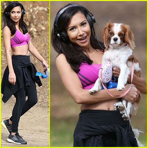 Naya Rivera: Outdoor Workout Before Date with Fiance Big Sean