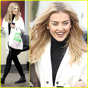 Perrie Edwards: Pet Store Shopping Stop