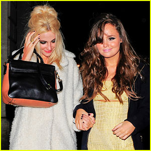 Pixie Lott: Girls' Night Out in London!