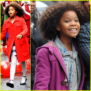 Quvenzhane Wallis: All Smiles for 'Annie'!