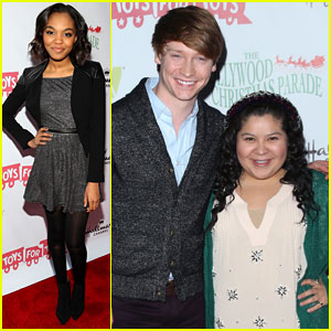 Raini Rodriguez & China Anne McClain: Hollywood Christmas Parade 2013