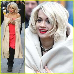 Rita Ora: DKNY New York Photo Shoot