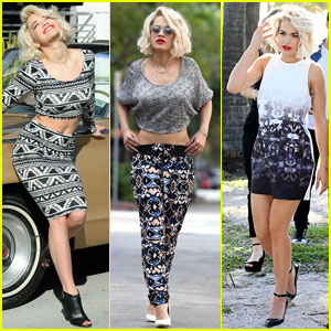 Rita Ora: 'Material Girl' Shoot in Miami
