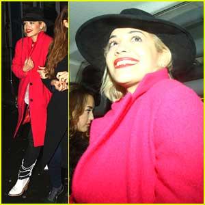 Rita Ora: Personalized George Foreman Grill!