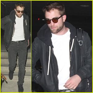Robert Pattinson: Late-Night Flight Out of Los Angeles