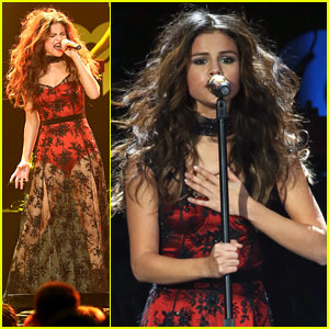 Selena Gomez: KISS FM Jingle Ball Seattle Performance Pics!