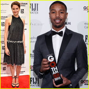Shailene Woodley & Michael B. Jordan: Gotham Independent Film Awards 2013