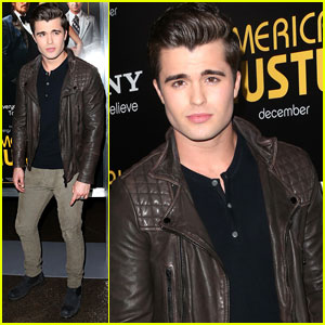 Spencer Boldman: 'American Hustle' Special Screening